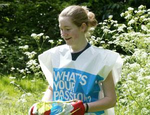 Slogan: Year of the Volunteer aimed to recruit new volunteers in 2005